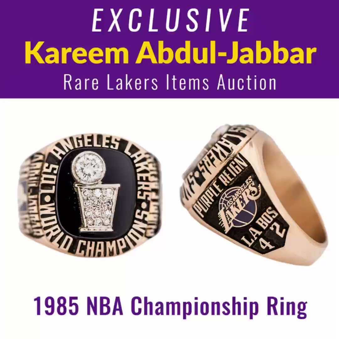 The link below explains why I am  selling all my sports memorabilia-I hope you will help me spread the word to fans who want to own a piece of my legacy   https://goldinauctions.com/blog/im-auctioning-sports-memorabilia-not-think-kareem/…