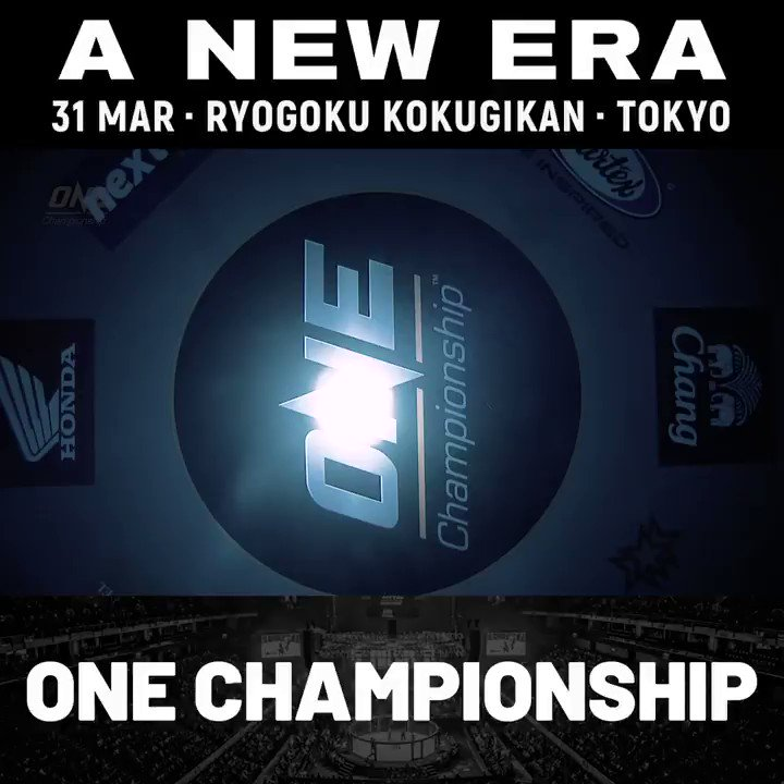 Win an all-expense-paid VVIP trip to Tokyo, and sit with me cageside! Be a part of this MONSTER historic event on March 31 for ONE: A New Era! LET'S GOOOOO!!!