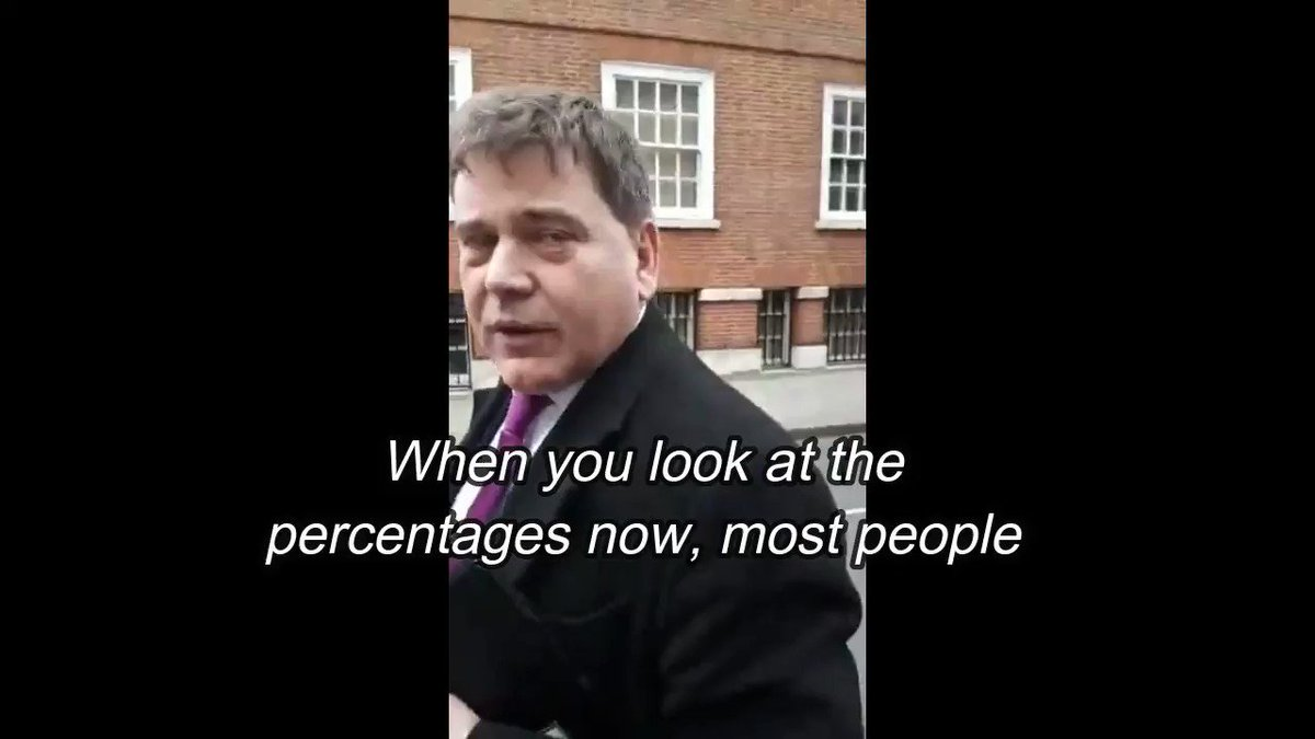 Andrew Bridgen MP says there's no appetite for another vote. Does he know something I don't?