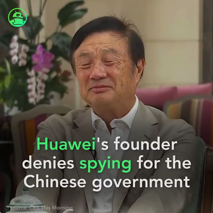 We've never shared customer data with the Chinese government, says Huawei. Read more: http://andauth.co/tJbEry   #technology #Huawei
