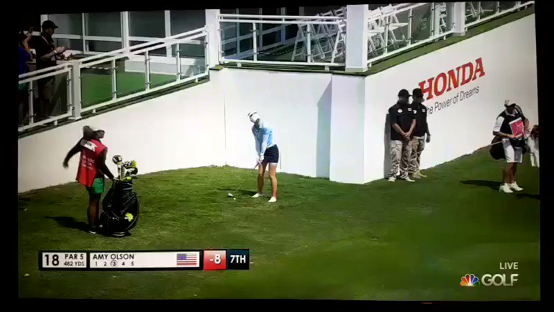 The latest backstopping incident is on the LPGA Tour, and it doesn't look great