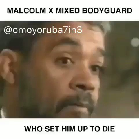 Assassination of Malcolm X.@Fresh_Flames1.