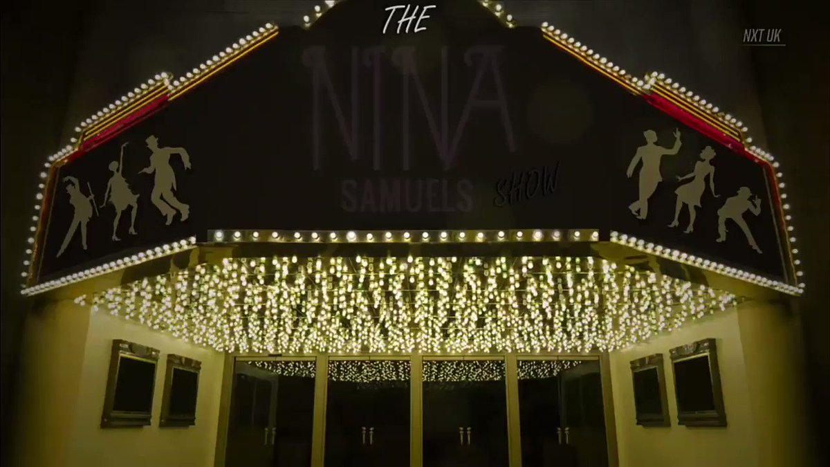 Take your seats. The Nina Samuels Show is about to begin....#NinaXT