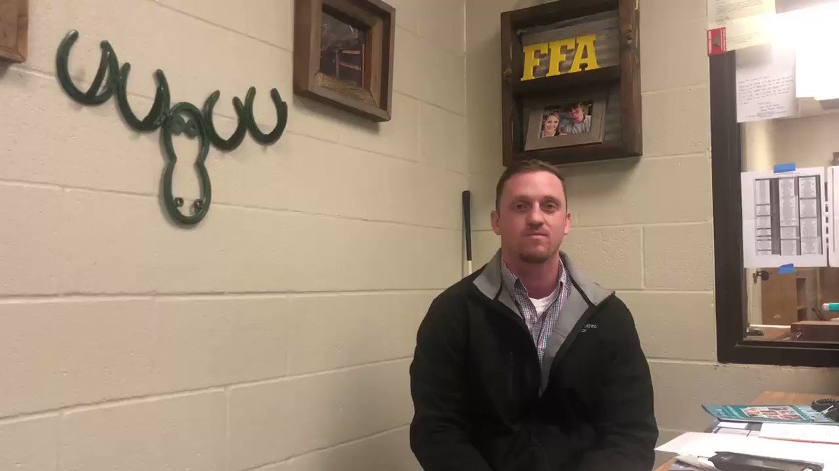 Zeb Prothro with @Beebe_Schools, who was named ArFB's Outstanding New Ag Educator, talked with us last week about the lessons @BEEBEFFA students are learning by being involved in the program! #FFAWeek