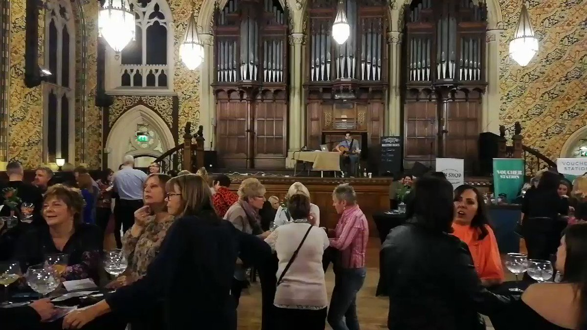 Warming up at the #Rochdale @The_GinSociety at the fabulous @RochdaleCouncil Town Hall..  #gin