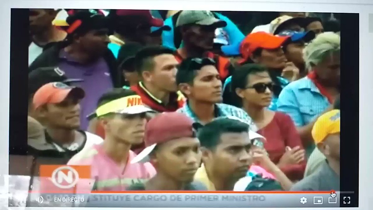 This is part of Maduro's concert in the venezuelan side of the border. The image is... well... enjoy