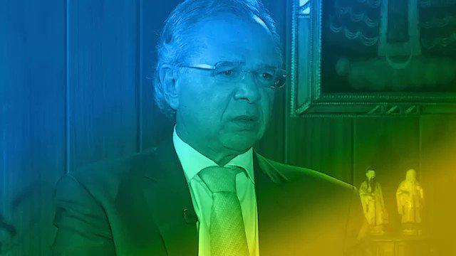 Ministro da Economia Paulo Guedes fala sobre a Nova Previdência. #novaprevidencia