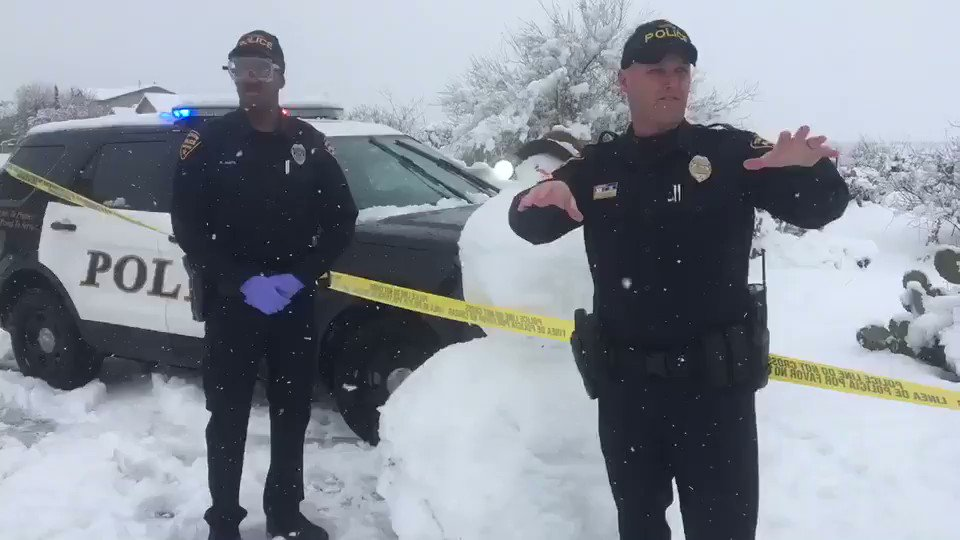 """""""BREAKING NEWS"""" Tucson PD Investigating Suspicious White Powdery Substance.   We now have some answers. Thank you for your patience. See video for details."""