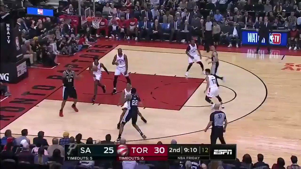 """""""Oh hit him with the sauce, DeMar!"""""""