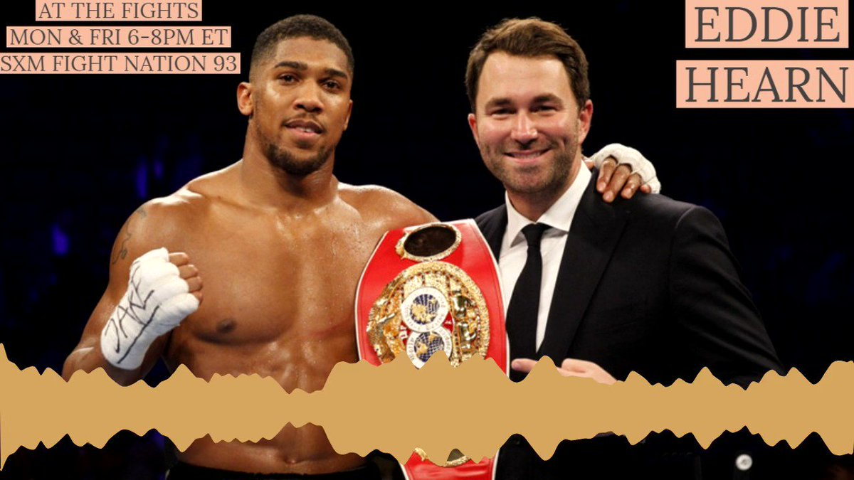 """""""Jarrell Miller has brought out the nasty side in Anthony Joshua."""" -- @EddieHearn explains why Big Baby Miller is the opponent Anthony Joshua needs   @CommishRandyG @gerrycooney   #JoshuaMiller #DAZN #boxing"""