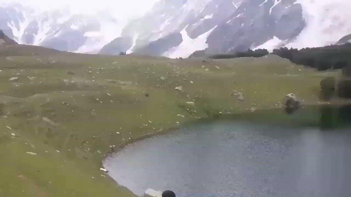 Pakistan's Stunning Haramosh Valley and Kutwal Lake Gilgit Baltistan #Travel #Nature #Holiday #vacations #Tourist #Tourists #Adventure #Thriller #Love #Journey #Stunning #Winter #Heaven #Paradise #Mountain #Amazing #Beautiful #PositivePakistan #Tourism #Pakistan #EmergingPakistan