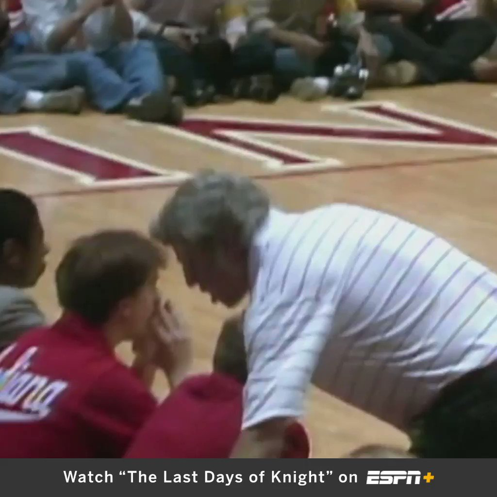 On This Date: In 1985, Bobby Knight infamously threw a chair across the court during a game 😡
