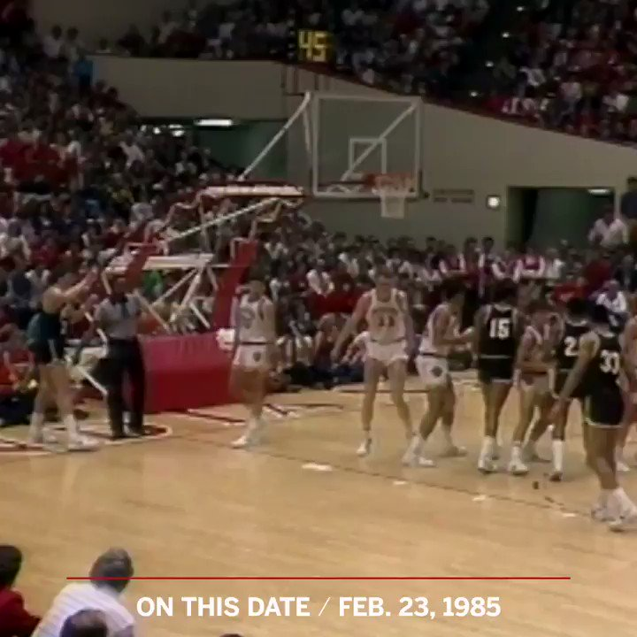 On This Date: 34 years ago today, Bobby Knight took his anger out on a chair 😡