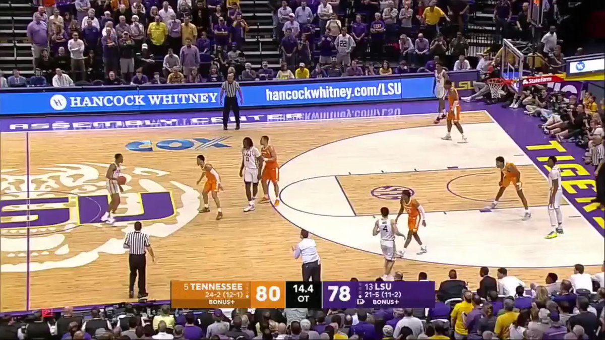 The ending to the Tennessee/LSU game was bonkers 👀