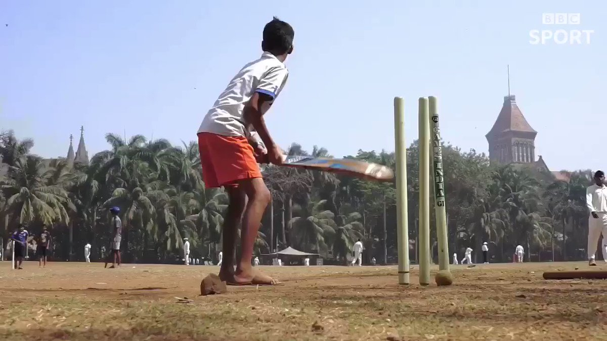 What happens when you take three international cricketers to play on the Oval Maidan in Mumbai?  🇮🇳 🏏   #bbccricket