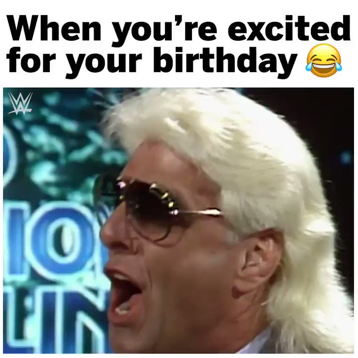 It's @RicFlairNatrBoy's 70th birthday! Never change 😂