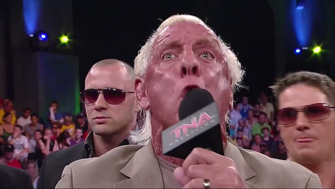 Probably one of the best promo I ever seen. Happy birthday Ric Flair.