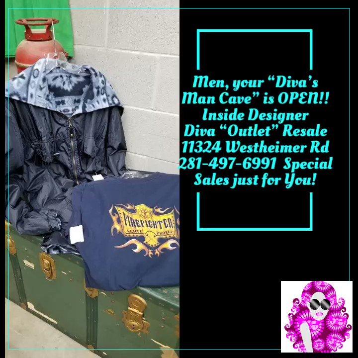 Designer Diva Llc On Twitter Now Open Diva S Man Cave Resale Inside Designer Diva Outlet Resale Sales For The Women And Sales For The Men 11324 Westheimer Rd 77077 281 497 6991 Menclothing