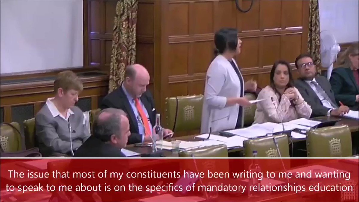 It's vital that schools follow the guidance for teaching #RSE, with parental engagement and proper consideration for pupils' religion and background. Yesterday, I made this clear to Education ministers in response to a petition signed by 1,763 #Birmingham #Ladywood constituents.