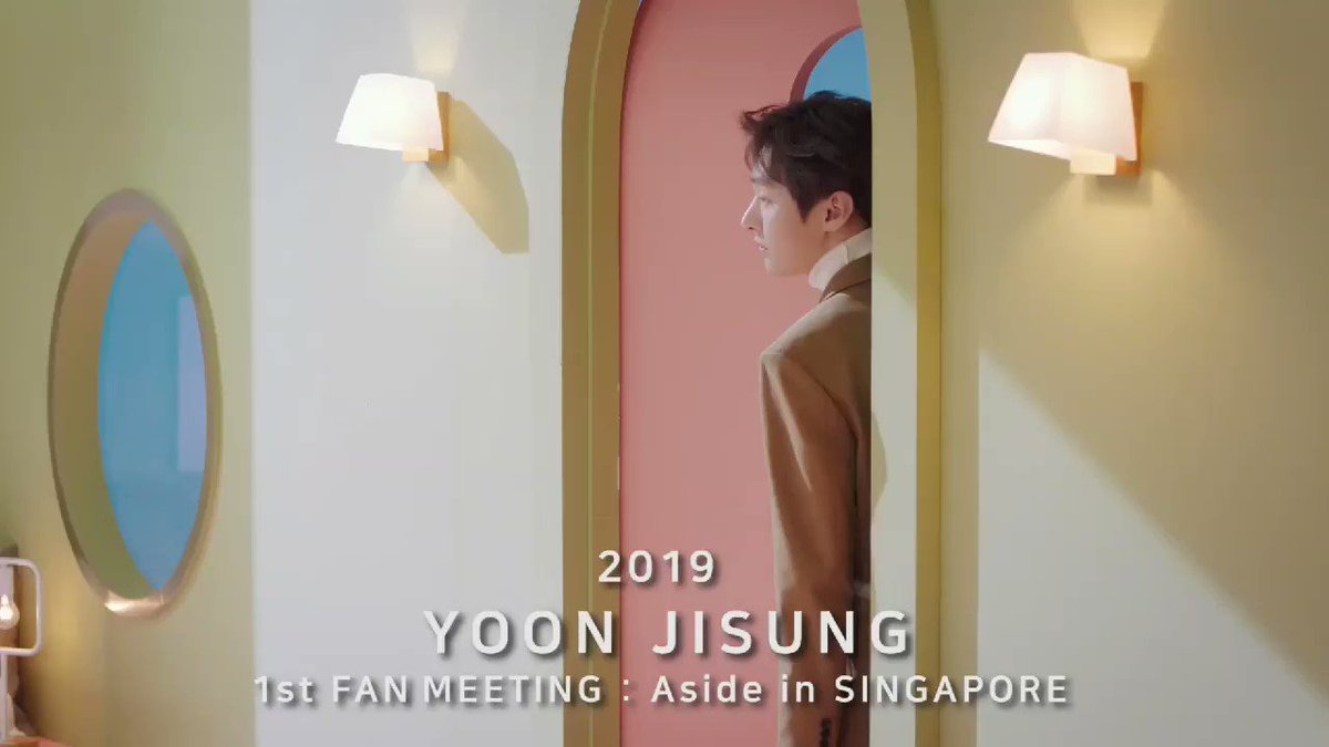 Yoon Jisung invites everyone to join #YOONJISUNG1stFANMEETINGinSG Date: 15.03.2019 Venue: ZEPP @ BIGBOX Tickets price: S$260 / S$217 / S$196 / S$152 / S$122 Tickets are available on Sat 2nd of March, 2019 from 10.00am onwards at outlets of SISTIC or sistic.com.sg