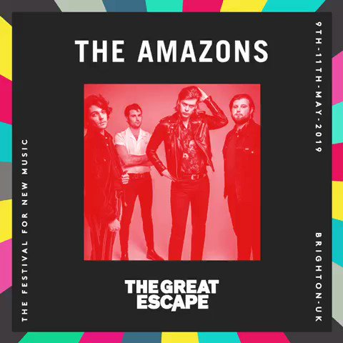 Performing at @thegreatescape in May✨ Tickets bit.ly/TGEFEST19