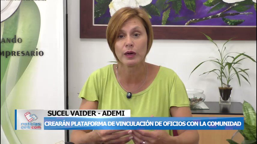 Ofrecerán servicios en una plataforma buscando vincular la oferta a la demanda @AgenciaADEMI  https://www.noticiasdel6.com/ofreceran-servicios-en-una-plataforma-buscando-vincular-la-oferta-a-la-demanda/…