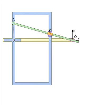 Linkage for Drawing Hyperbola
