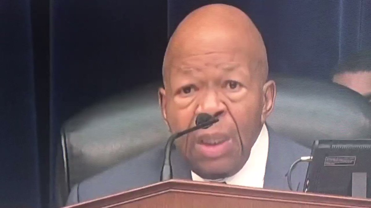 """Sad news—American patriot Rep Elijah Cummings died earlier today at John Hopkins Hospital due to """"complications from longstanding health challenges."""" Rest In Peace. This speech from Cummings is how I'll always remember him. An American hero."""