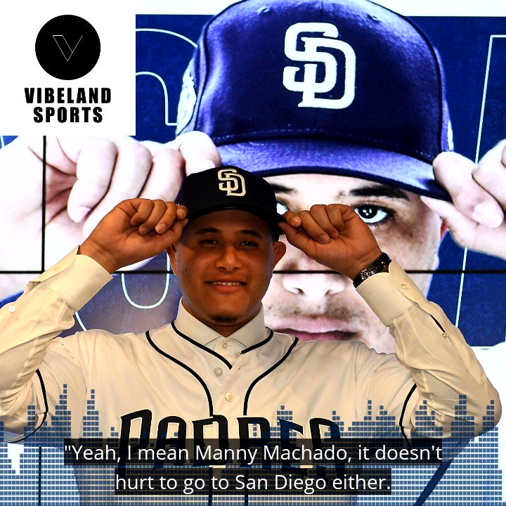 Even if #MannyMachado doesn't have a great career with the #Padres, he still gets to live in #SanDiego for the next decade. 🌴😎🌴  Check out Ep. 10 of #VIBELANDSports! Apple Podcasts ➡️ http://apple.co/2TkIqu9  Spotify ➡️ http://spoti.fi/2U7qErr