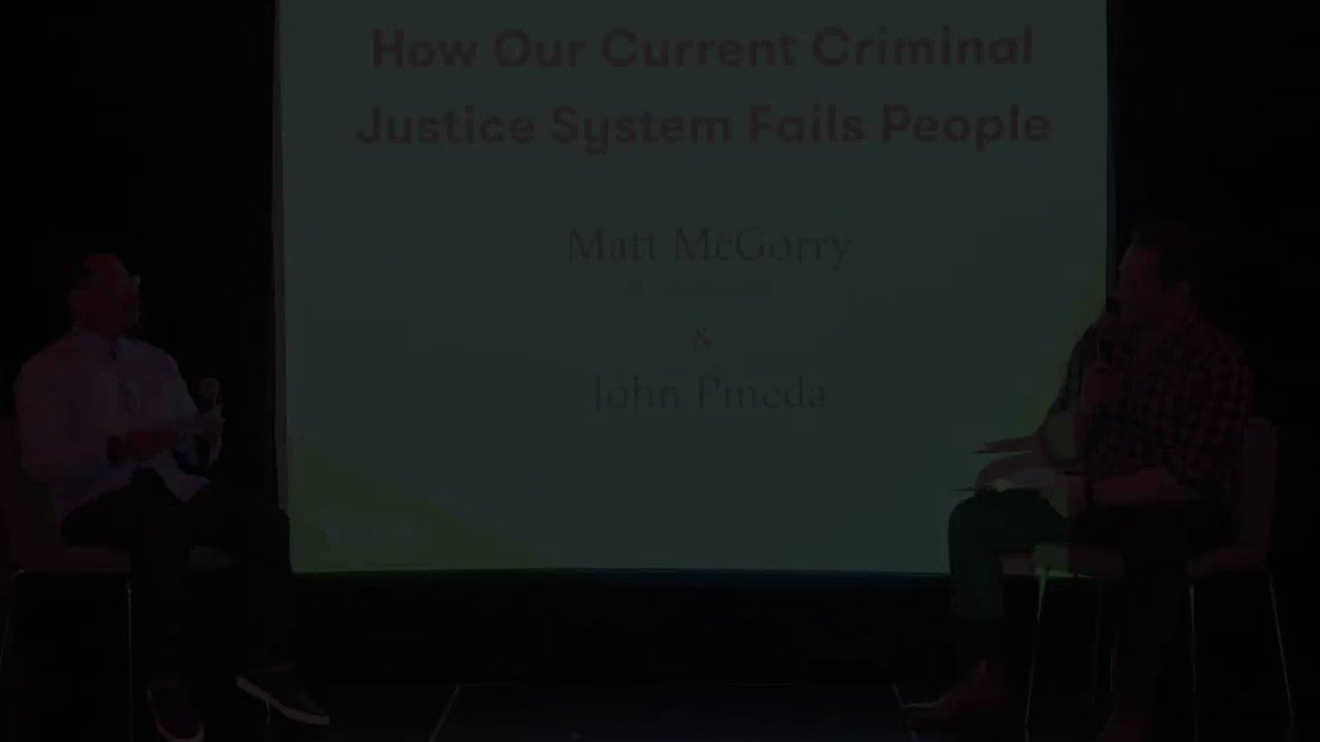 WATCH: Last week, @MattMcGorry attended Vera's 2018 Best Of Awards. There, he shared how his upbringing affected how he viewed our broken criminal justice system and how white communities can do to improve it. #Stateof2k18 #CJSystem