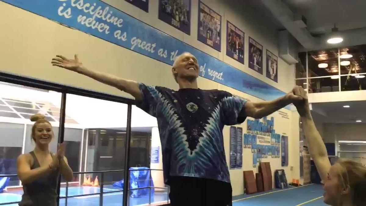 I'm an excellent gymnast