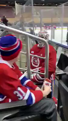 Montreal Canadiens goalie Carey Price shared emotional moment with fan