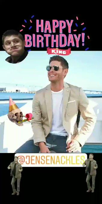 Happy Birthday Jensen Ackles...
