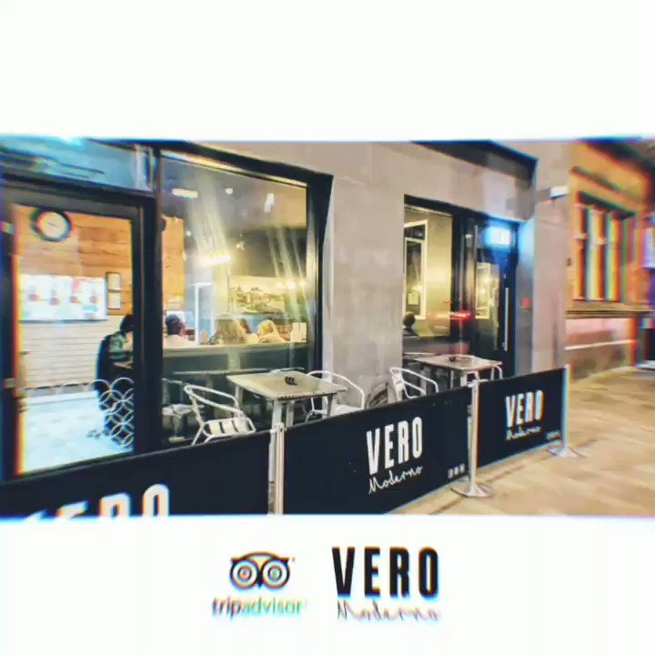Grazie mille! 💕  On TripAdvisor we're now:  🔸 #1 restaurant in #Salford 🔸 #2 Italian restaurant in #Manchester  Wow!  Help us to become #1 by posting your reviews, it really helps...  Thank you for your support everyone, see you soon!  Team Vero Moderno x