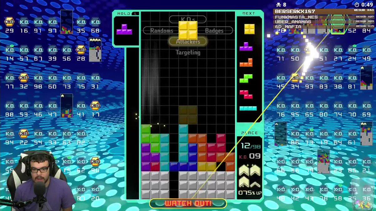 NO WAY!!! #Tetris99