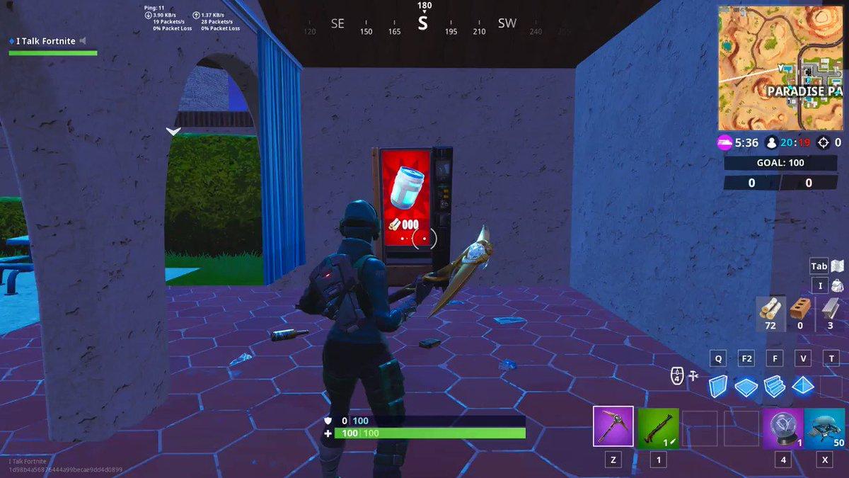 Free Vending Machine Fortnite Team Rumble | Fortnite Free Lg