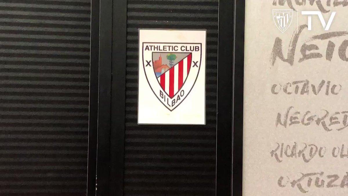 Il reste seulement 2⃣  heures avant le match  #ValenciaAthletic #HuescaAthletic #GoruntzBegira 💪🦁