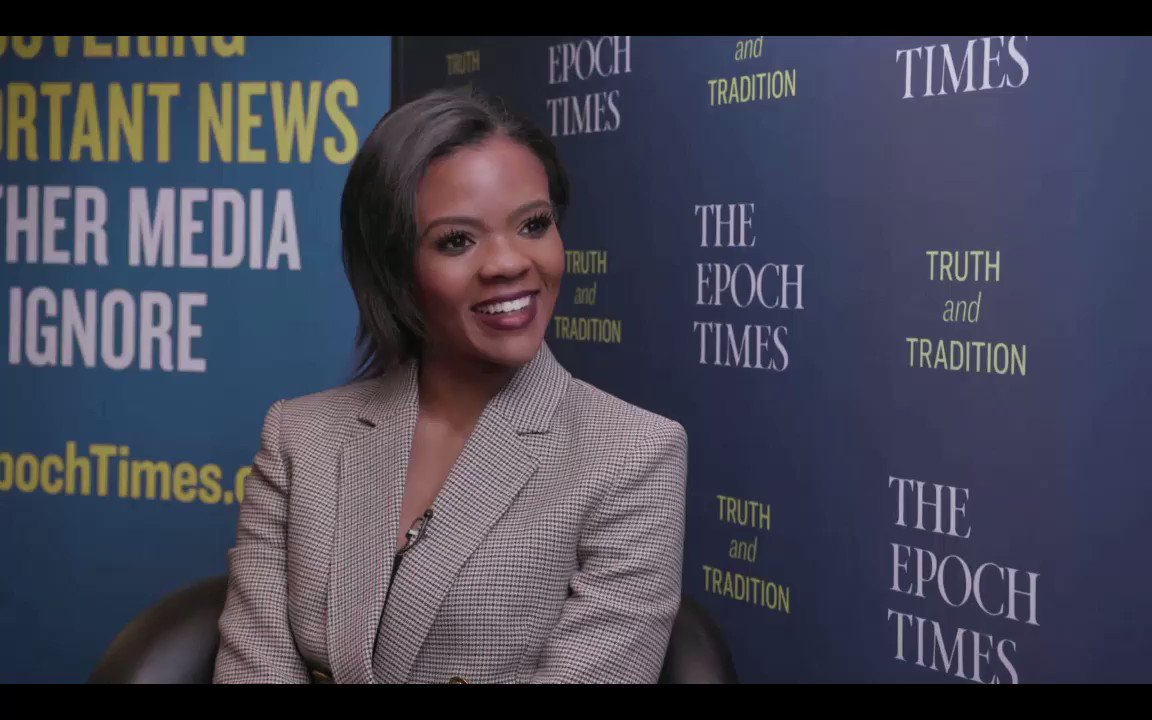 Director of Communications at @TPUSA, @RealCandaceO talks about #Blexit and the power of telling the truth on American Thought Leaders 🇺🇸 with @JanJekielek at @CPAC. #CPAC2019  Watch full: https://www.youtube.com/watch?v=-mIUPodo74k&list=PLKDm1nJ92oevt4P6QHzqhPUwtfFmAGKTf&index=24&t=0s…