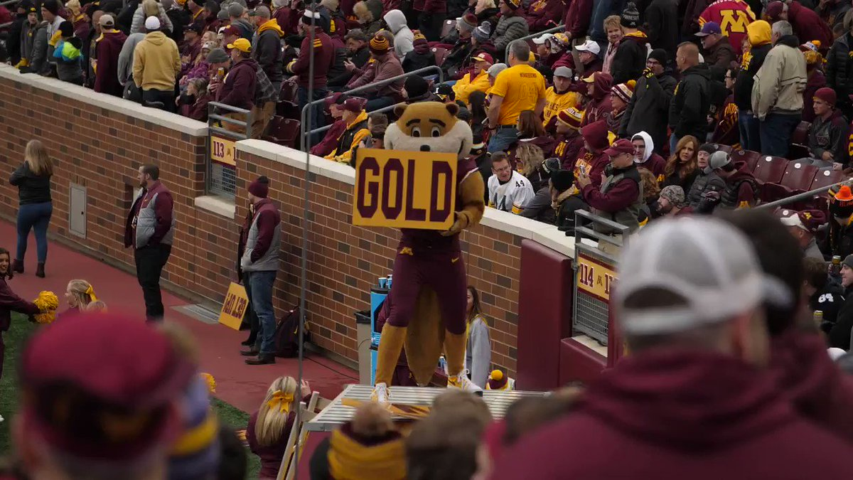 Think this looks like fun? You don't know the half of it! Come to an info meeting to learn more about Goldy tryouts!   Info meetings are: 3/6, 5pm @ Maturi Pavilion 3/7, 6pm @ Maturi Pavilion Email go4it@umn.edu for more info!