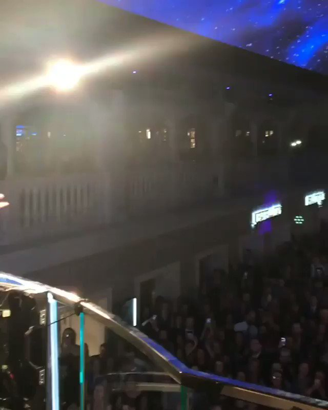Thank you to everyone for showing my mum so much love when I brought her out on stage at the MSC Bellissima cruise ship 🛳 launch! Made her night & made me so happy seeing her having such a good time 💖 #mscbellissima #Southampton @MSCCruisesUSA https://t.co/si6DpgmLsb
