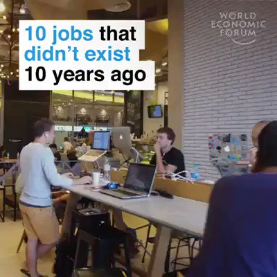 10 jobs that didn't exist 10 years ago