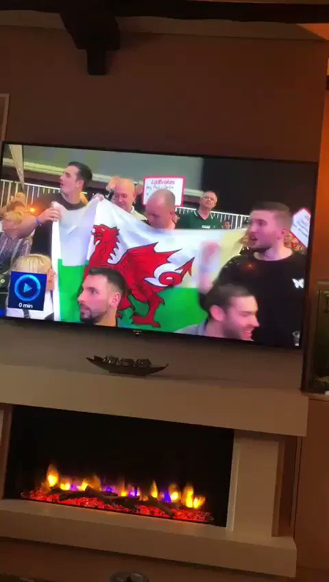 So my mate's TV debut at the #UKOpen went well @Chris180Mason @DanDartsDawson