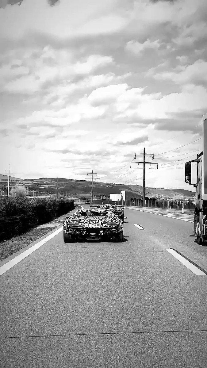 De Tomaso Pantera to be reborn? Prototype prowled the streets of Geneva