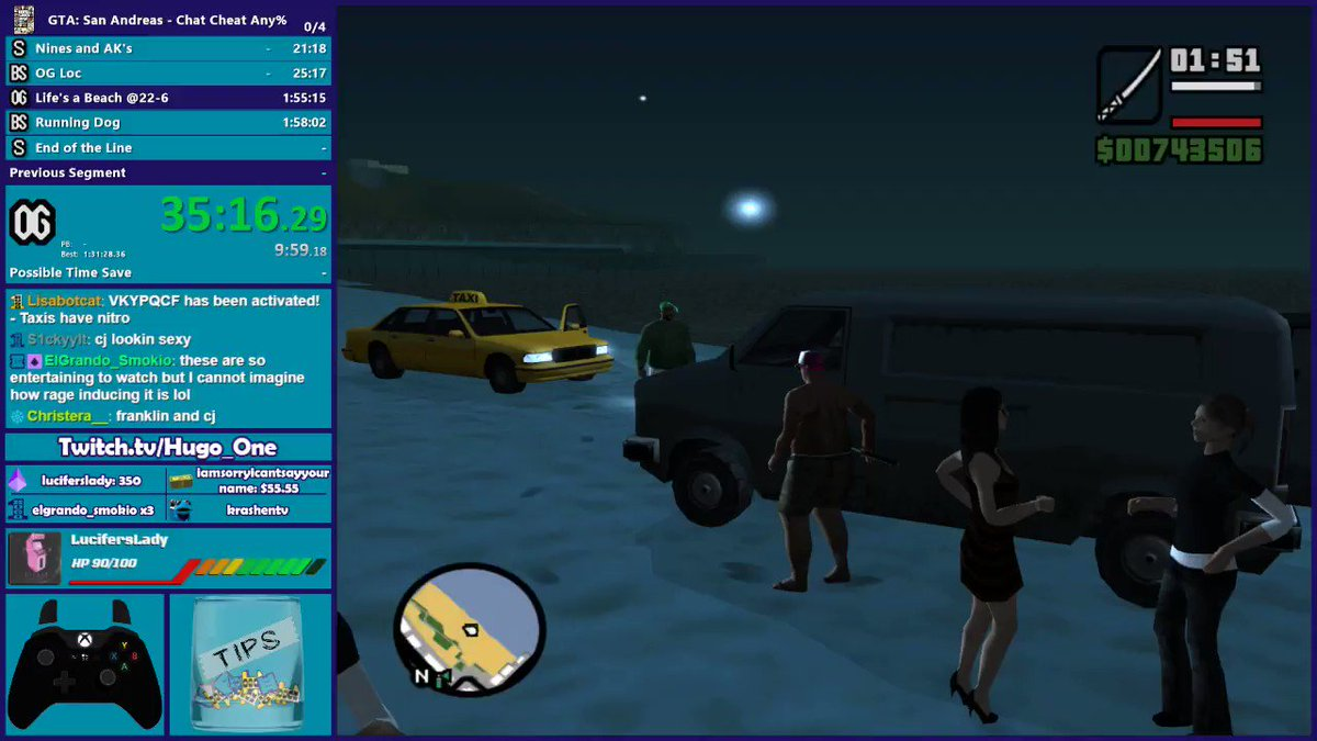 4d08971802d All the chaos that was the GTA San Andreas Chat Cheat Speedrun is now on  YouTube
