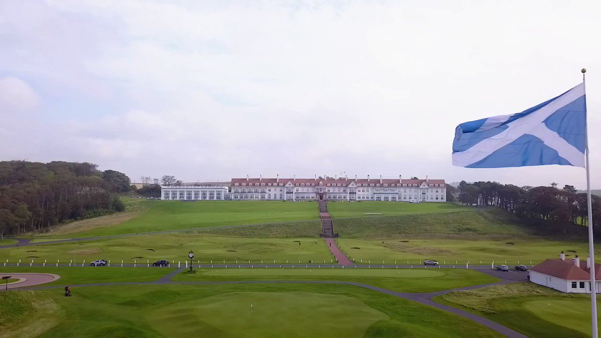 .@TrumpTurnberry has just been named the 'Best Golf Resort in Europe in 2019'! Thank you, @LeadingCourses for awarding our two amazing golf courses, astonishing hotel and top notch facilities http://bit.ly/2CKl8le
