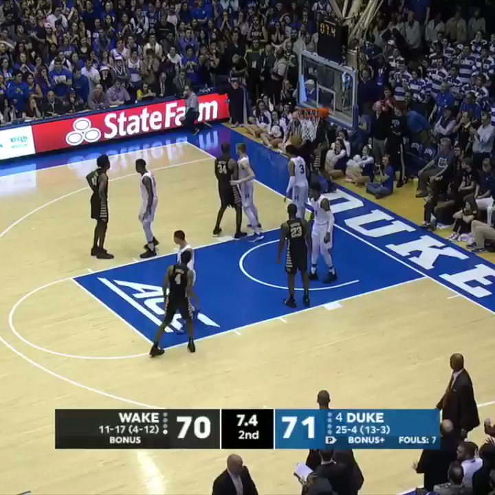 People Can't Stop Talking About The Insane Ending Of The Duke Game. Watch The Wild Finish Here
