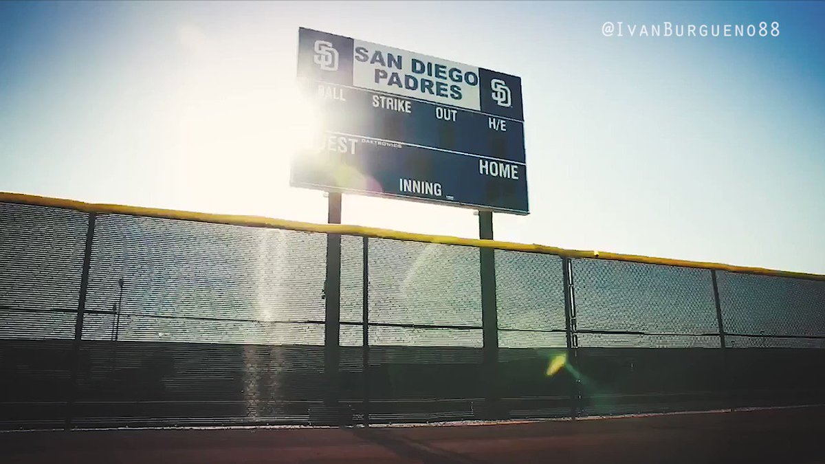 Who's ready for the season to start? Here's my @Padres hype video. #PadresTwitter @TheRealHos305 @tatis_jr