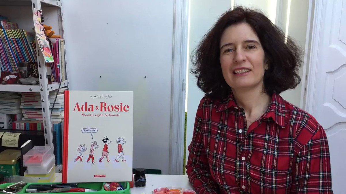 Dès mardi prochain, Ada & Rosie (@CastermanBD) prendront possession de notre espace Gallery jusqu'au 28 avril.  Laissons l'auteure, Dorothée de Monfreid (@DdeMonfreid) , vous les présenter...  Plus d'infos: https://www.cbbd.be/fr/expositions/la-gallery/ada-rosie-mauvais-esprit-de-famille… #brusselsmuseums #museumpassmusees #visitbrussels