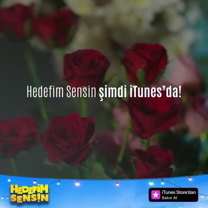 """""""Hedefim Sensin"""" kaçıranlar ve yeniden izlemek isteyenler için şimdi iTunes'da! 😎 #HedefimSensin  👉https://apple.co/2VCSDQg"""