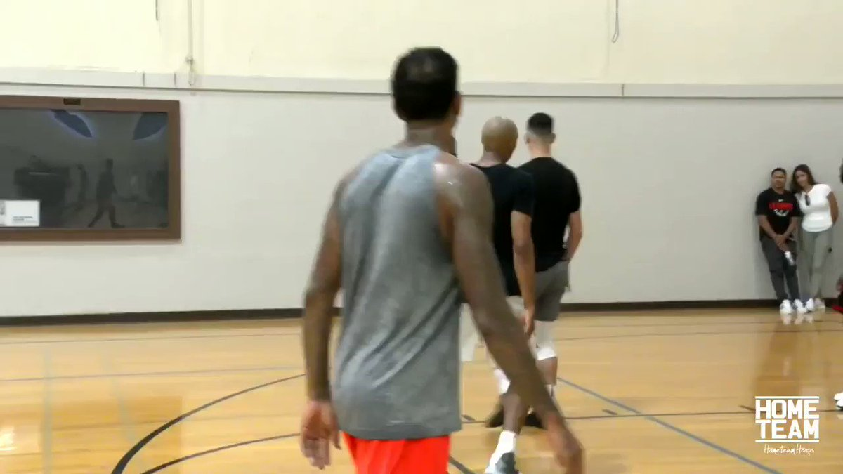 @okcthunder cc: presti, just gonna drop this clip from the summer. Been saying for week+ now another shooter/ scorer would help this team. @russwest44 x @Yg_Trece × @BenMcLemore 👀. Nice little minute vid. But I dont know what I am talking about🤔🧐. #ThunderUp #whynot